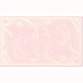 The Rug Market Giant Paisley Pink Rug
