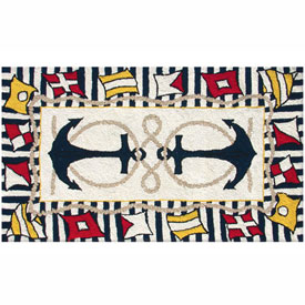 The Rug Market Nautical Anchor Rug