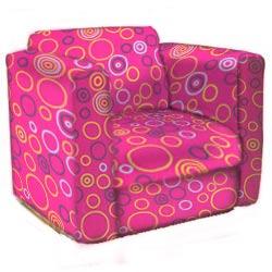 Circles Kid's Upholstered Rocker