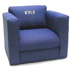 Personalized Kid's Upholstered Rocker