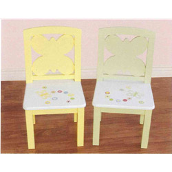 Butterfly Dots Set of Two Chairs