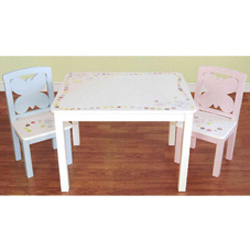Butterfly Dots Table & Chair Set