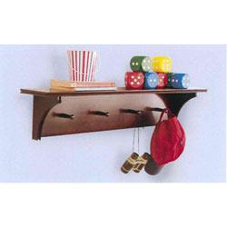 Chocolate Wall Shelf