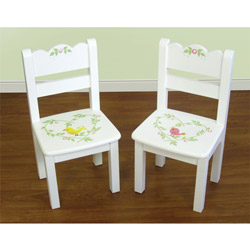 Love Birds Set of Two Chairs