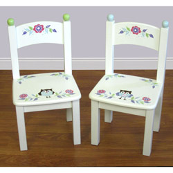 Owl Vine Set of Two Chairs