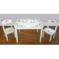 Owl Vine Table and Chair Set