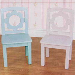 Pretty Petals Set of Two Chairs