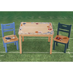 Sports Border Table and Chairs Set