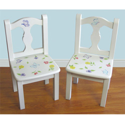 Wildflowers Set of Two Chairs