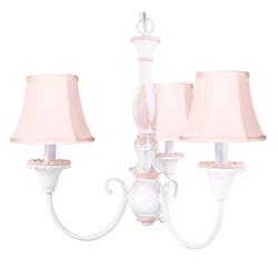 Victoriana Pink Chandelier