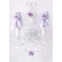 Tulle Double Light Wall Sconce