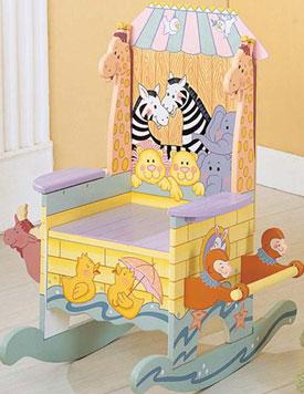Teamson Handpainted Noah's Ark Potty Chair