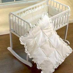 Baby Doll Waffle Fleece Cradle Bedding