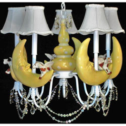 Cow Over The Moon Chandelier