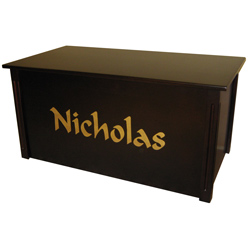 Personalized Espresso Toybox with Laser Engraved Letters
