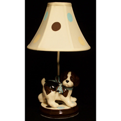 Adorable Puppy Table Lamp