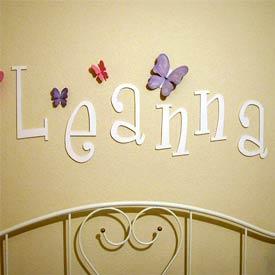 Custom Whimsical Letters
