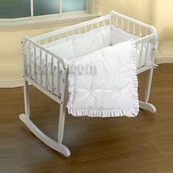 Baby Doll Simplicity Cradle Bedding