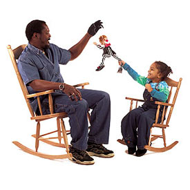 Whitney Brothers Child Rocking Chair