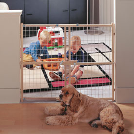 'Wide' Wire Mesh Gate