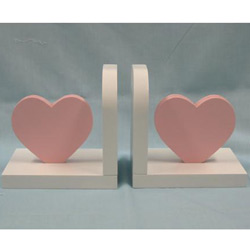 Heart Bookends