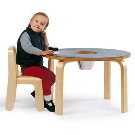 Offi Woody Chalkboard Table