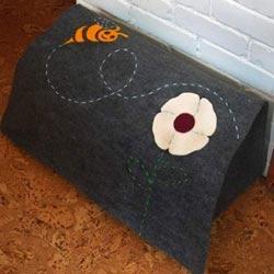 Bumblebee Felt Toy Box