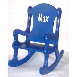 Little Boy Blue Rocking Chair