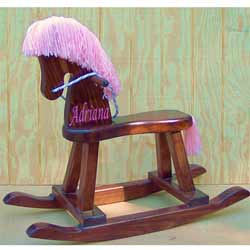 Personalized Girls Rocking Horse