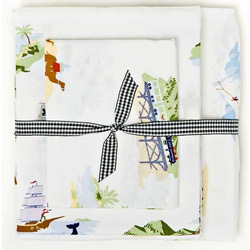Adventure Twin Sheet Set