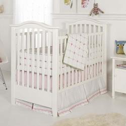 Tufted Crib Bedding Set