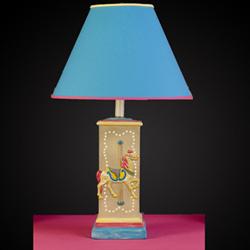 Carousel Horse Square Column Lamp
