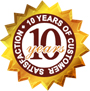 10 year customer satisfaction