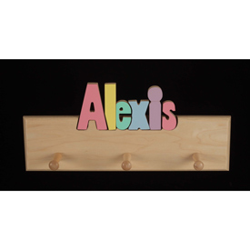 Personalized Coat Rack