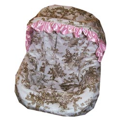 Heavenly Soft Infant Car Seat Cover