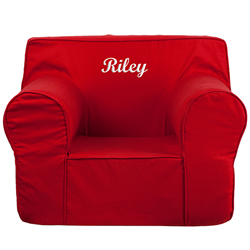 Personalized Kids Oversized Foam Chair