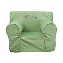 Personalized Kids Small Foam Chair