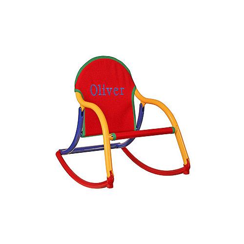 Hoohobbers Toddler Rocker Folding Personalized Rocking Chair