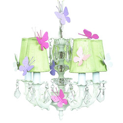 Butterfly 5-Arm Chandelier