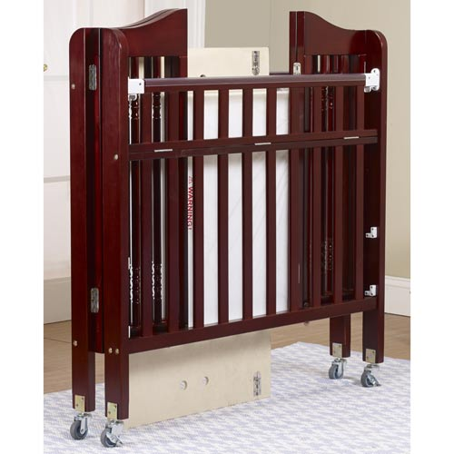 Natalie Portable Crib Daycare Cribs - aBaby.com - Cherry