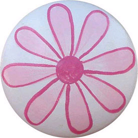 Flower Knob (Pack of 6)