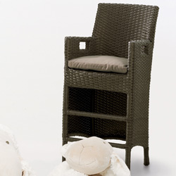 Wicker High Chair