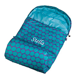 Personalized Big Dots Stay Warm Sleeping Bag
