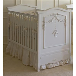 French Flower Basket Crib