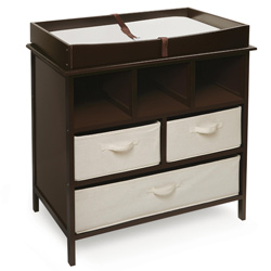 Estate Changing Table with 3 Baskets