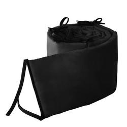 Color Black Size Lucy Cradle Bumper 18x36