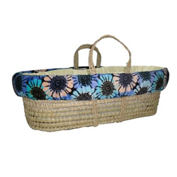 Midnight Marigold Moses Basket