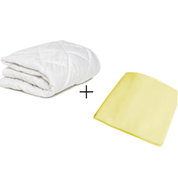 Cradle Mattress Protector and Sheet Combo