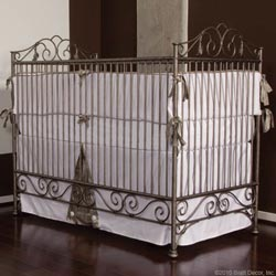 Casablanca Wrought Iron Crib