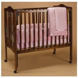 Baby Doll Heavenly Soft Crib Skirt//Dust Ruffle Sage